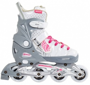 9bc9f8081c2 Tempish Lux Rebel Inline Skates girls gray / white