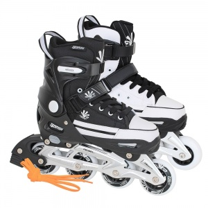 Tempish Magic Rebel Inline Skates junior zwart/wit