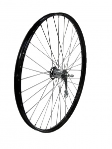 TOM Rear wheel 28 x 1 1/2 Shimano 635RN black with piping