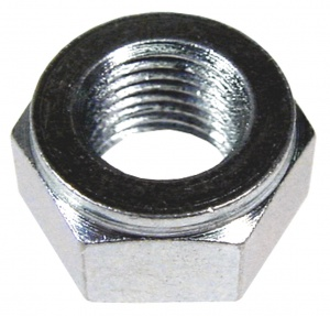 TOM shaft nut SBR/SBF 3/8 inch steel silver each