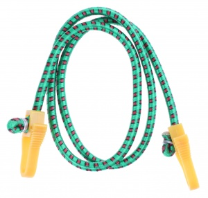 TOM luggage strap with hooks 10 mm green 100 cm each