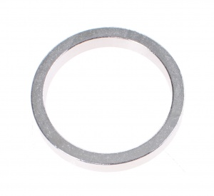 TOM balhoofdring Spacer 1 1/8 inch 5 mm zilver