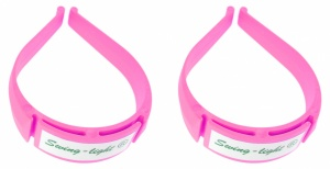 TOM trouser clamps pink 2 pieces