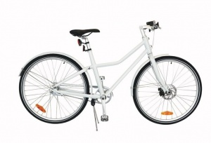 TOM City Bike Deluxe 26 Inch Unisex 2V Schijfrem Wit