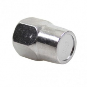 TOM cap nut HMN386 steel M9 silver per piece