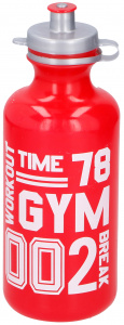 TOM drinkfles Workout 750 ml polyetheen rood