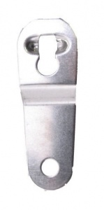 TOM quick release hook stainless steel universal silver