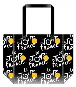 Tour De France Shopper 25 x 32 cm black