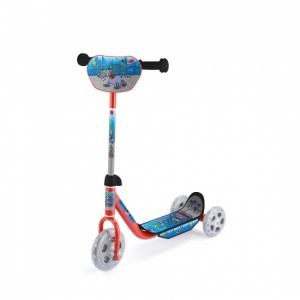 Toyrific Tri Scooter Jongens Voetrem Rood