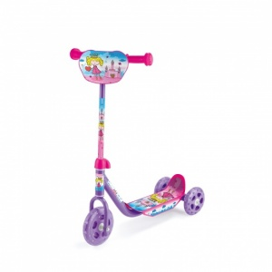 Toyrific Tri Scooter Meisjes Voetrem Roze/Paars