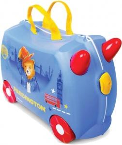 769ed1cd4107 Trunki ride-on suitcase Paddington bear blue 18 litres