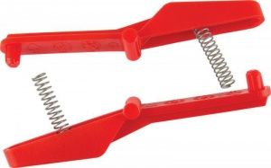 Twinny Load Clamps locking light beam red 2 pieces