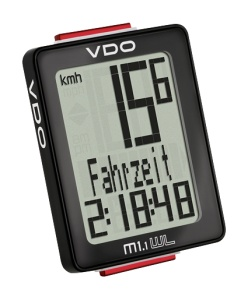 VDO Bike M1.1 WR black
