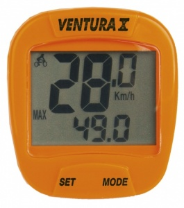 Ventura Cycling X 10 Features Wired Orange