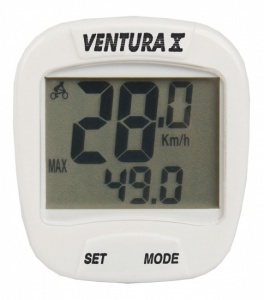 Ventura Cycling X 10 Features Wired White