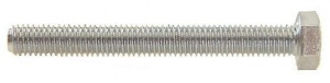 Bofix Hexagonal bolt M8 x 50 mm galvanized 12 pieces (217850)