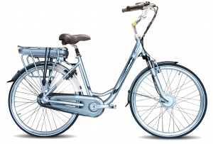 Vogue Basic 28 Inch 49 cm Woman 3SP Roller brakes Silver