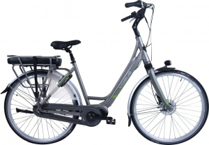 Vogue Elegance 28 Inch Woman 8SP Roller brakes Silver