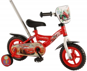 Volare Cars 10 Inch Boys Fixed Gear Red