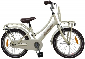 Volare Excellent 18 Inch 28 cm Girls Coaster Brake Pearl