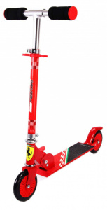 Volare kinderstep Ferrari Boys Foot brakes Red/Black