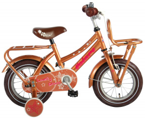 Volare Lovely Stars 12 Inch 21,5 cm Girls Coaster Brake Brown