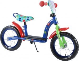 Volare PJ Masks luxe loopfiets 12 Inch Boys Blue