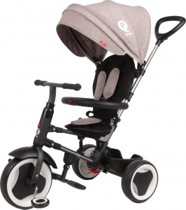 QPlay Rito Deluxe Junior Noir/Gris