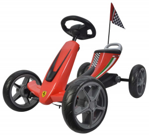 Volare skelter Scuderia Ferrari Junior Red/Black