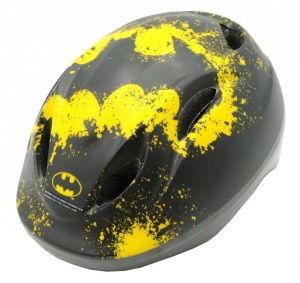 Volare skate/bicycle helmet Batman junior black/yellow