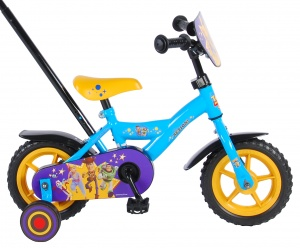 Volare Toy Story 10 Inch 18 cm Boys Fixed Gear Blue/Yellow