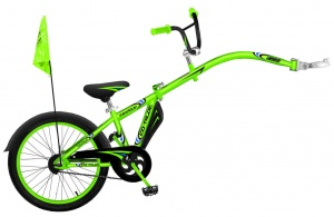WeeRide Co-Pilot 20 Inch Junior Green