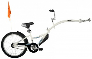 WeeRide Co-Pilot 20 Inch Junior White