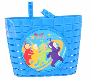 Widek Kinderfahrradkorb Teletubbies PVC blau