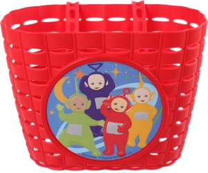 Widek Kinder Fahrradkorb Teletubbies PVC rot