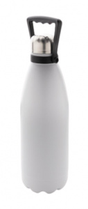 XD Collection thermos flask with bracket 33.9 cm stainless steel white 1.5L