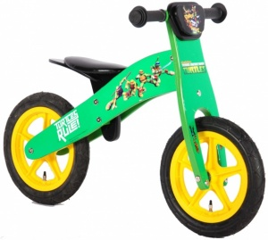 Yipeeh Ninja Turtles loopfiets 12 Inch Boys Green