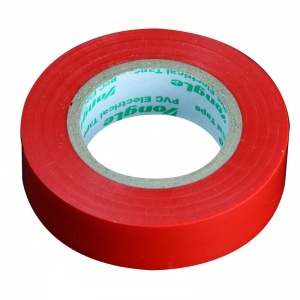 Zenitech isolierband 15 mm x 10 m rot
