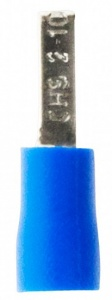 Zenitech cable lugs blue Ø1,22 - 2,28 mm 10 pieces