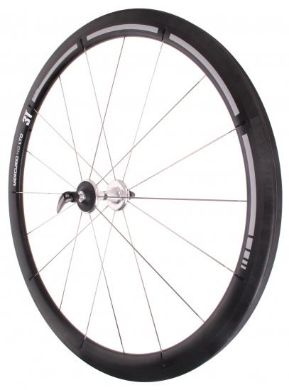 3T Voorwiel Mercurio 40 LTD 28 inch Velgrem carbon 18G zwart