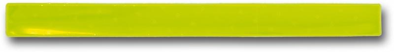 4 Act Reflex Klemband Snap Wrap Geel 3x40 cm