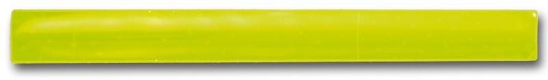 4 Act Reflex Klemband Snap Wrap Geel 4.4x44 cm