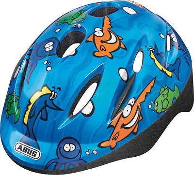 Abus Helm Smooty Zoom Oceaan blauw junior maat 50/55 cm