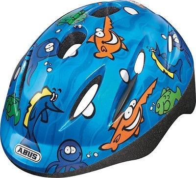 Abus Helm Smooty Zoom Oceaan blauw junior maat 45/50 cm