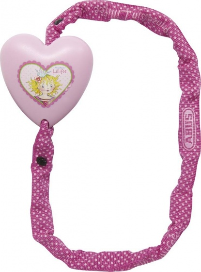Abus Kettingslot Prinses Lillifee nylon hoes 600 x 4 mm roze