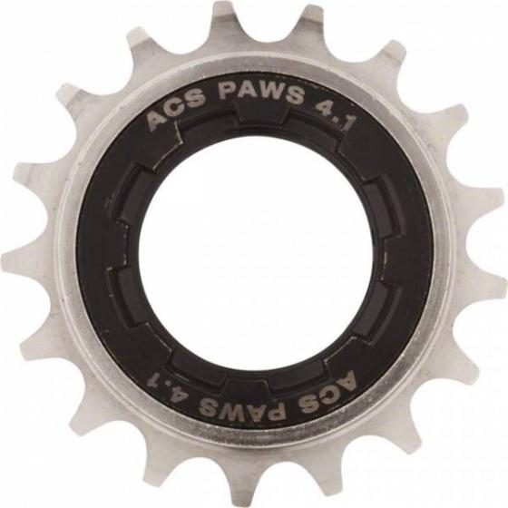 ACS freewheel 22T 1/2 x 3/32 inch zwart/grijs
