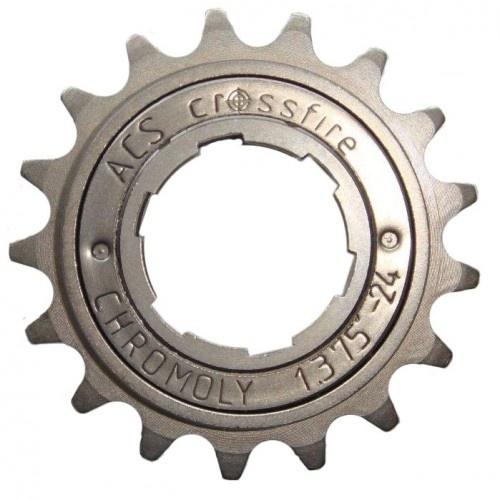 ACS freewheel Crossfire 18T 1/2 x 3/32 inch grijs