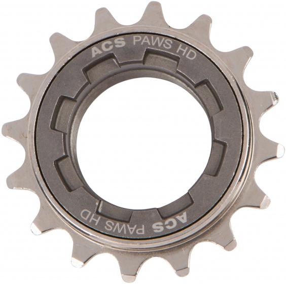 ACS freewheel HD 16T 1/2 x 3/32 inch grijs