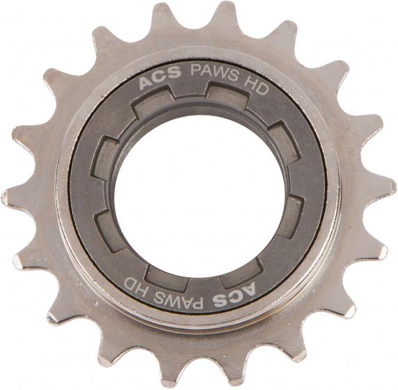ACS freewheel HD 18T 1/2 x 3/32 inch grijs