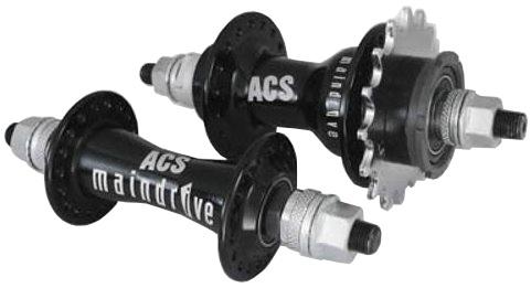 ACS Main Drive Naven Set BMX 36 Gaats Zwart